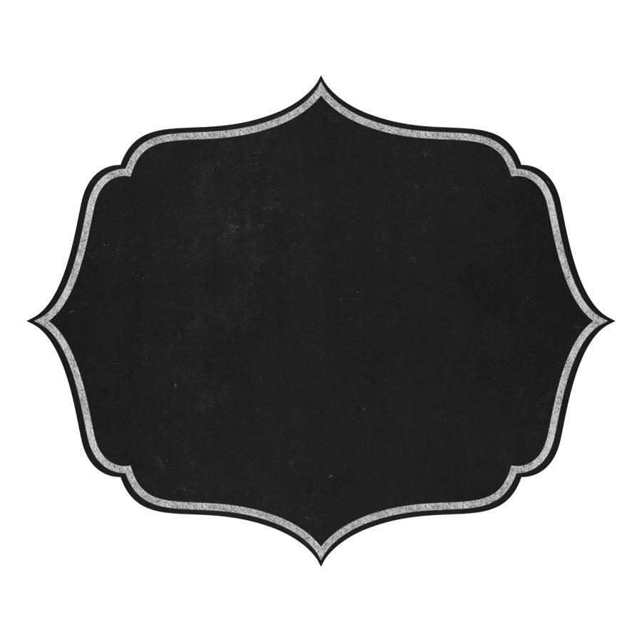 900x900 Chalkboard Frame Clipart