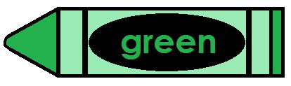 414x123 Green Crayon Clipart