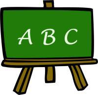 200x194 Abc Chalkboard Clipart