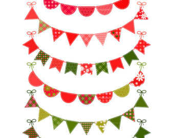 340x270 Bunting Clipart Pennant Banner