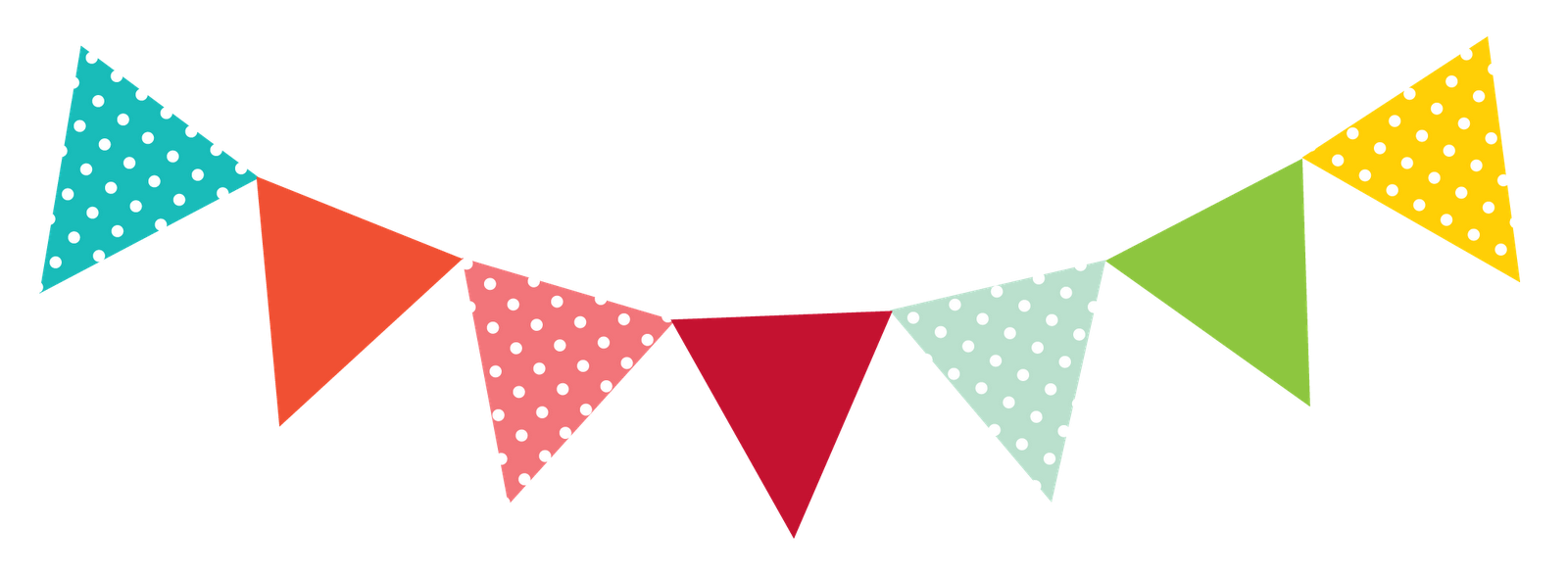 1600x587 Bunting Clipart Pennant Banner