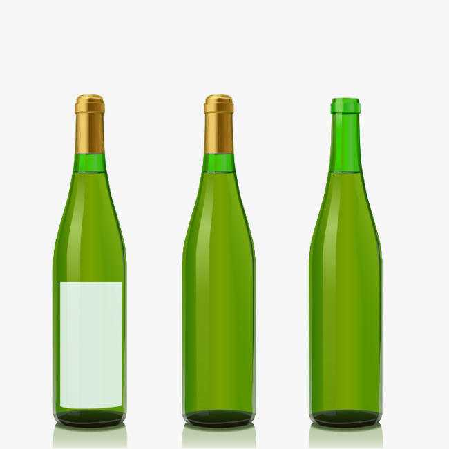 650x651 Champagne Bottle, Green Glass Bottle, Red Wine Png Image For Free