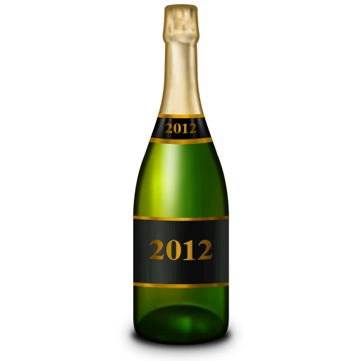 512x512 Champagne Bottle Icon New Year Iconset