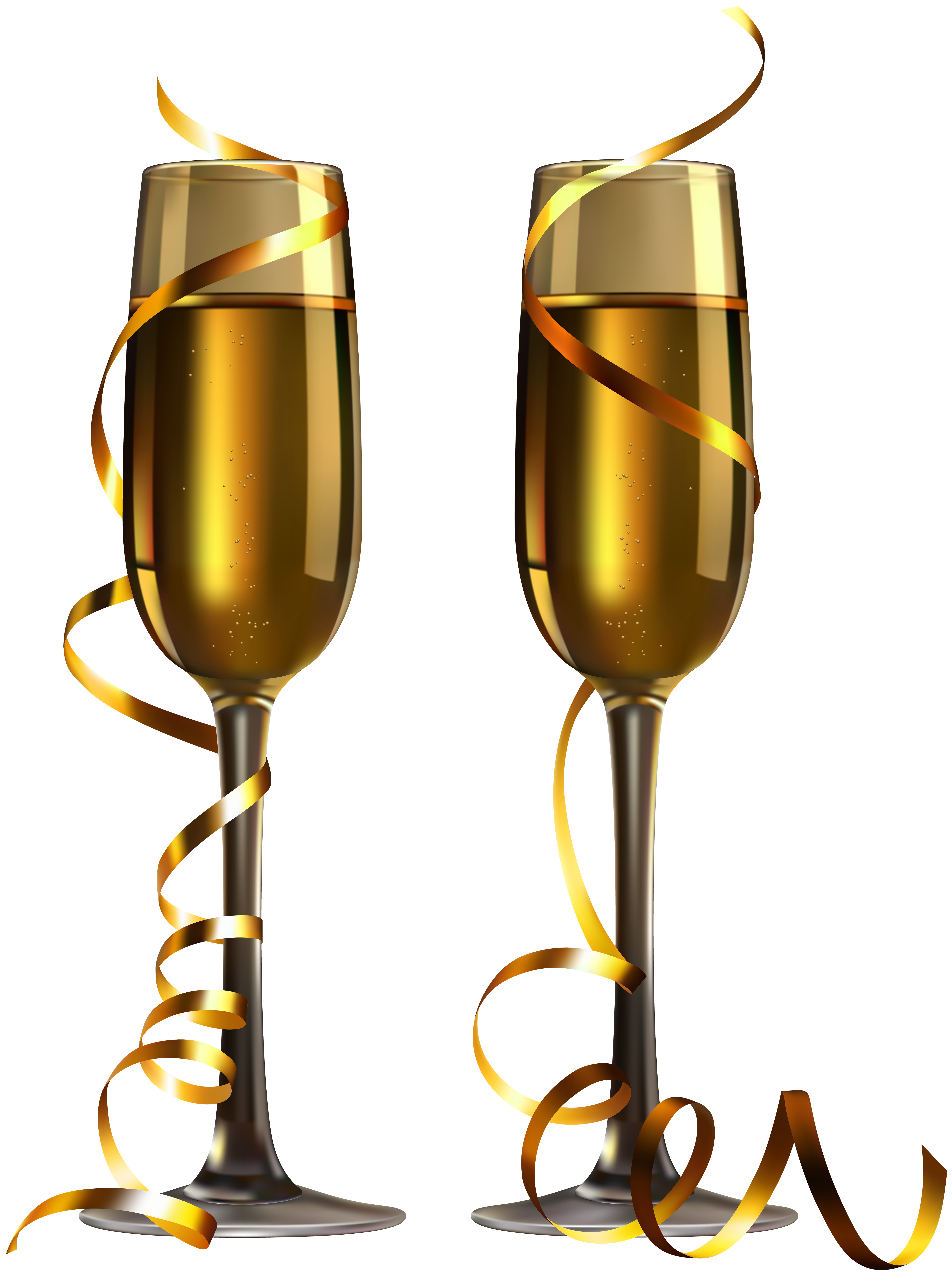 5939x8000 New Year Champagne Glasses Png Imageu200b Gallery Yopriceville