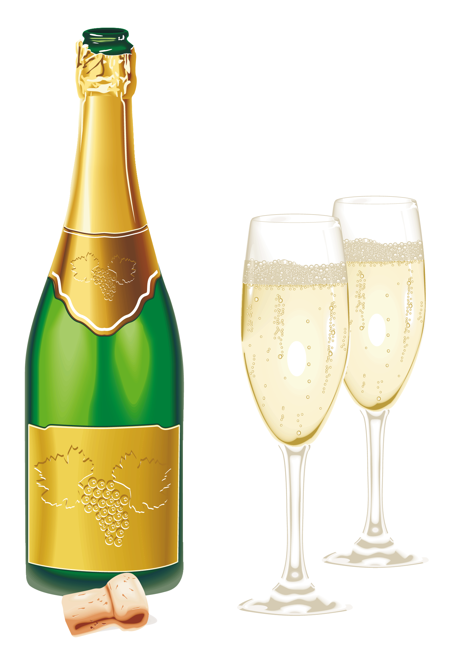 1506x2190 New Year Open Champagne With Glasses Png Pictureu200b Gallery