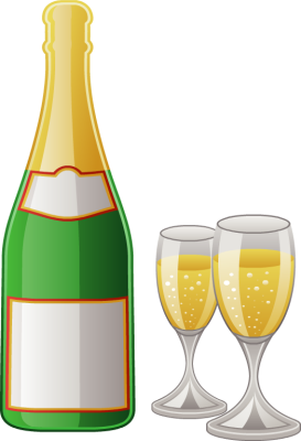 273x400 Wine Clipart Champagne Bottle