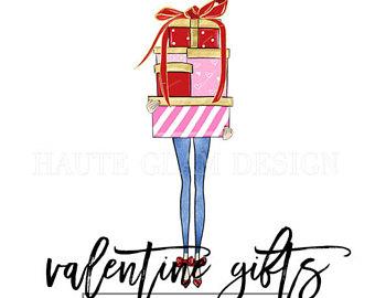 340x270 Brunette Glam Girls Clipart Fashion Illustration Clip Art