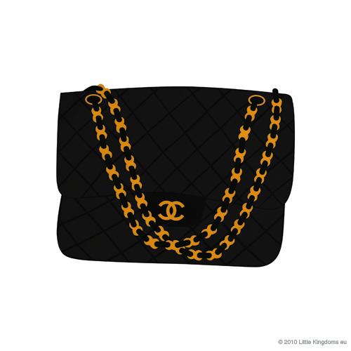 500x500 Perfume Clipart Chanel Bag
