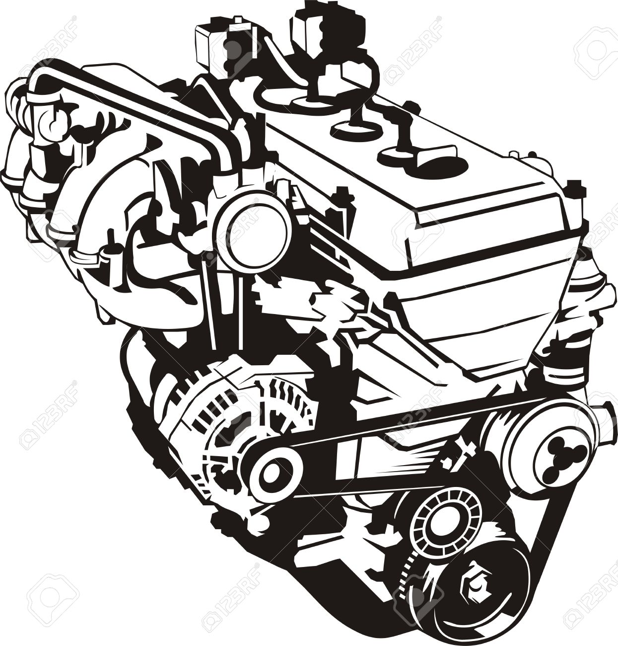 1245x1300 Engine Clipart Diesel Engine