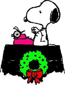 222x290 snoopy christmas clip art - Snoopy Christmas Clip Art