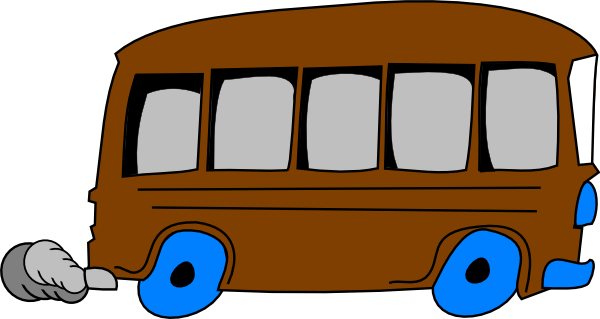 Charter Bus Clipart