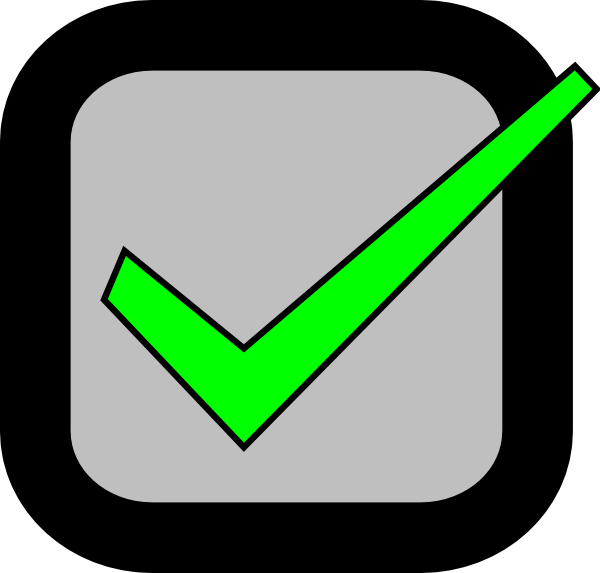 600x573 Nxt Checkbox Checked Required Clip Art