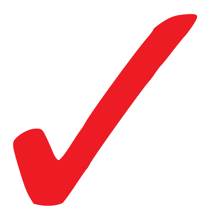 900x900 Check Mark Red Check Clipart Kid