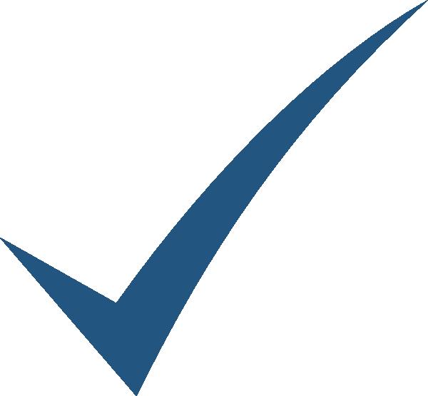 600x555 Blue Check Mark Transparent Background. Blue Check Mark