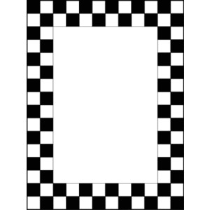 Checkerboard Border Clipart Free Download Best