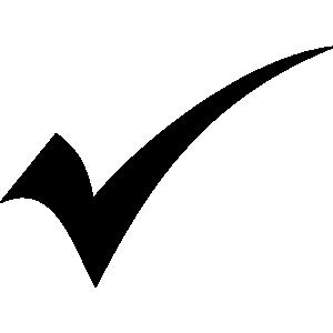 300x300 Check Mark Checkmark Clip Art