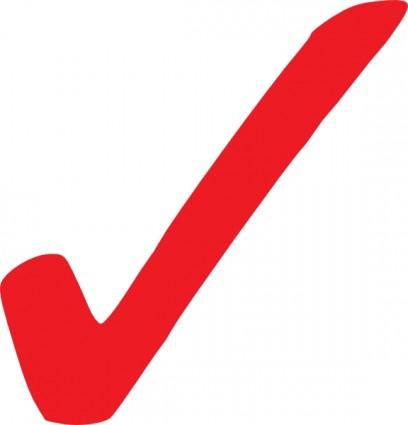 408x425 Simple Red Checkmark Clip Art Vector Clip Art Free Vector Free