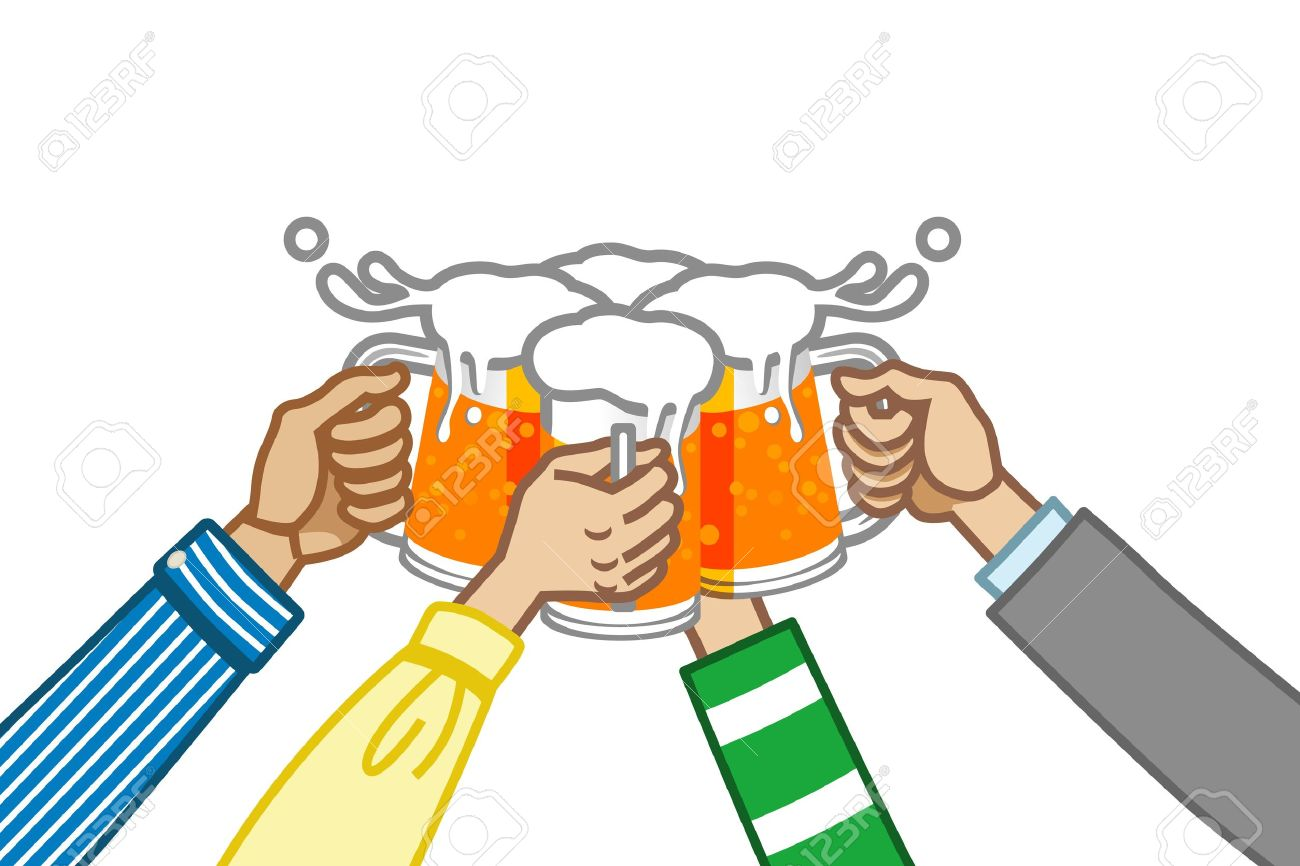 1300x866 Drinking Clipart Cheer Beer