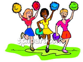350x260 Fan Clipart Cheer Squad