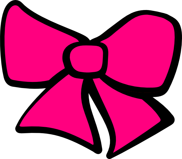 600x524 Bow Tie Clipart Cheer Bow