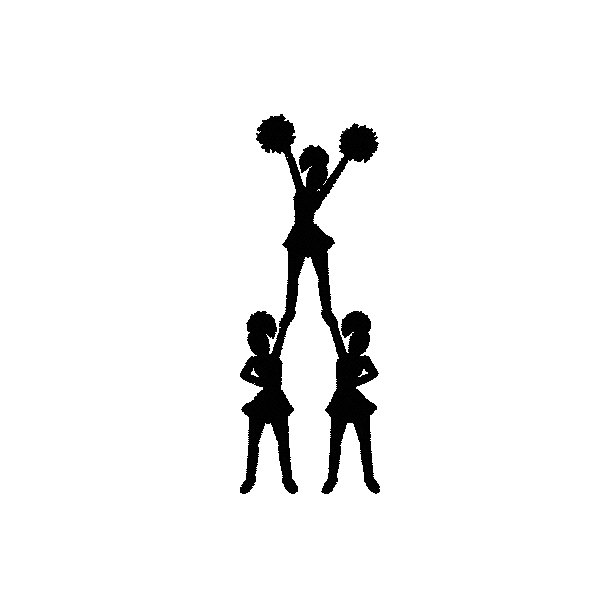 600x600 Stunt Clipart Cheer Dance