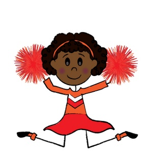 300x300 Cheer Clip Art Cheerleader Kids Football And Cheer 3