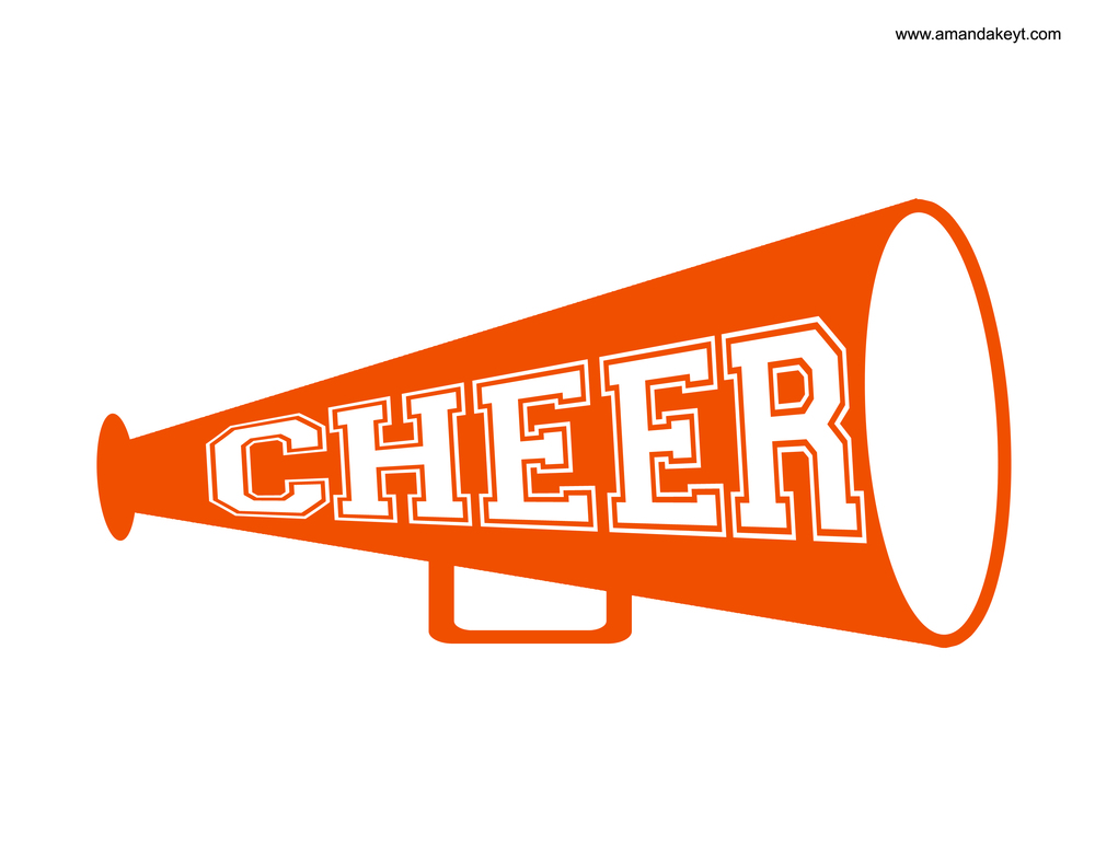 photo relating to Printable Megaphone Template titled Cheer Megaphone Impression Cost-free down load excellent Cheer Megaphone