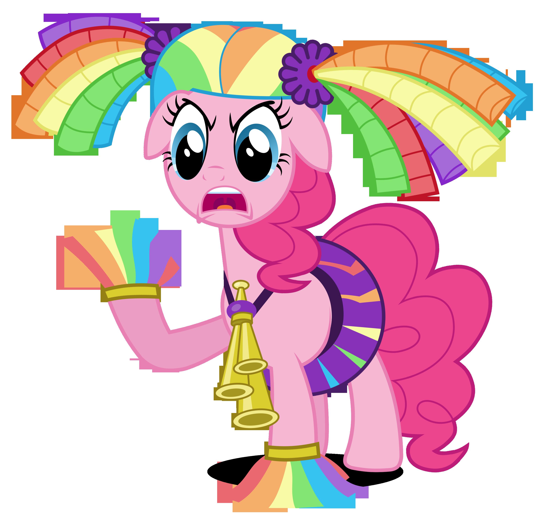 3135x3000 Pinkie Pie Cheerleader By Brony Works