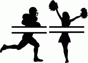 Cheerleader Clipart Silhouette