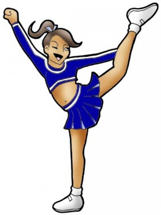 518x691 Cheering Woman Animated Clipart