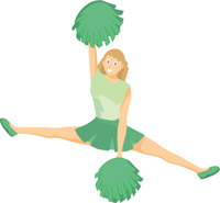 Cheerleader green. Images free download best