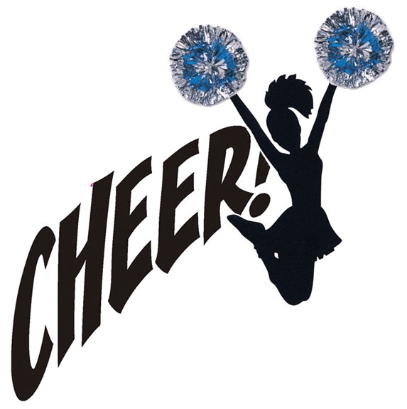 573x575 cheerleader clipart clipart