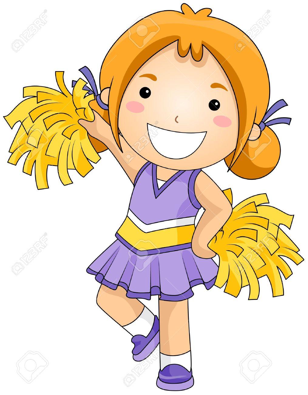 Of cartoon cheerleaders pictures