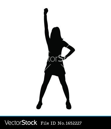Cheerleading Clipart Stunts