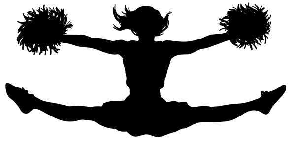 597x295 Cheerleading Png Jumps Transparent Png Images.