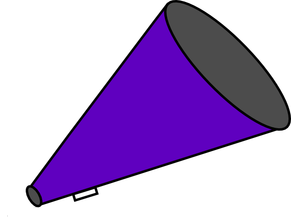 600x451 Megaphone Clip Art