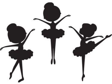 Cheerleading Silhouette Clipart