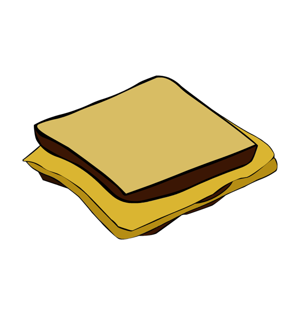 Cheese Sandwich Clipart | Free download on ClipArtMag