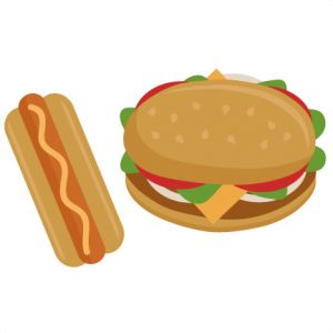 Cheeseburger Clipart