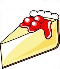 201x231 Free Cheesecake Clipart
