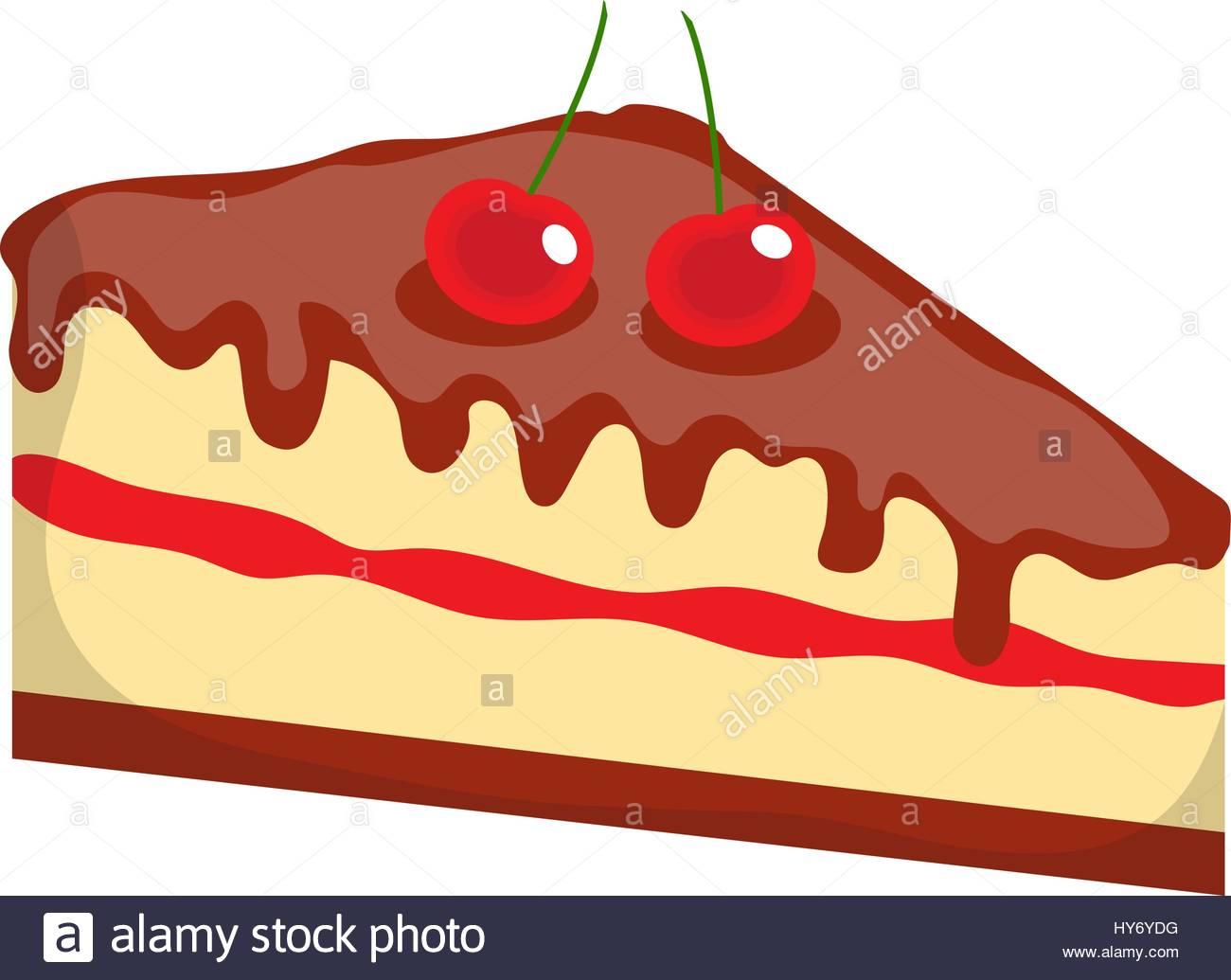 1300x1035 Cheesecake, Cake Icon, Flat, Cartoon Style.isolated On White Stock