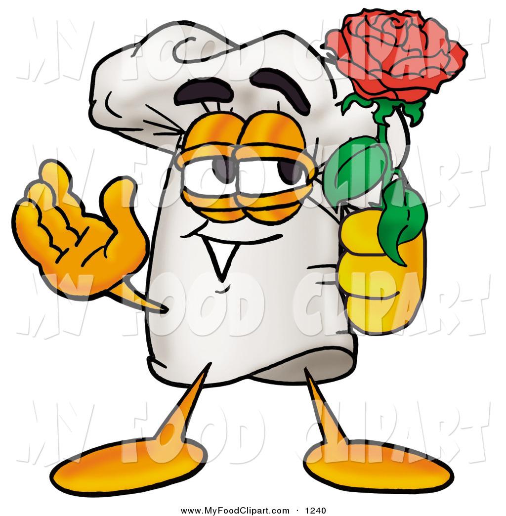 1024x1044 Food Clip Art Of A Romantic Chefs Hat Mascot Cartoon Character