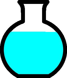 258x298 Flask Clip Art