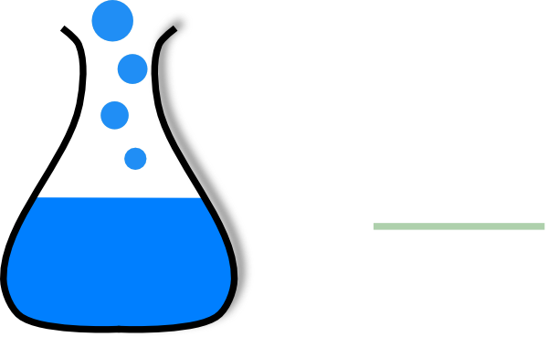 600x369 Chem Flask Blue Clip Art