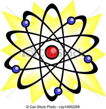 450x464 Science Clipart Chemistry Atom