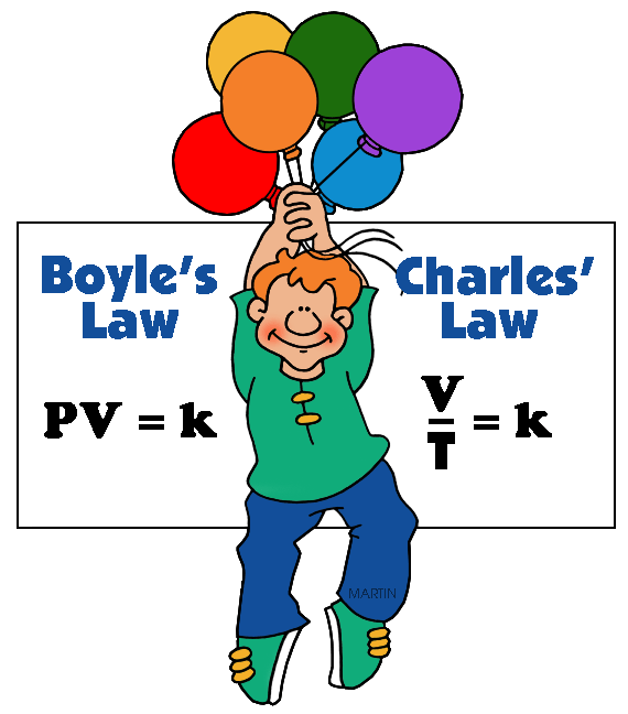 570x648 Chemistry Clip Art By Phillip Martin, Boyle's And Charles' Laws