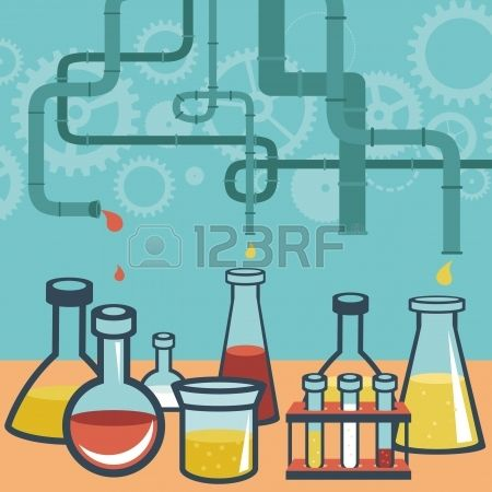 Chemistry Lab Clipart