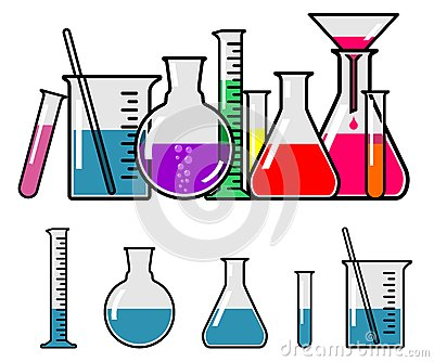 400x334 Chemistry Glassware Clipart