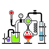 170x170 Clip Art Of Old Science And Chemistry Infographic Laboratory