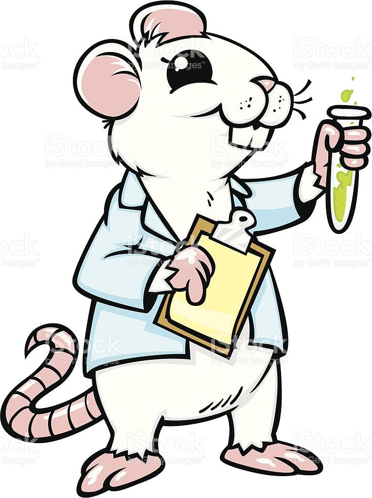 765x1024 Lab Rat Clipart